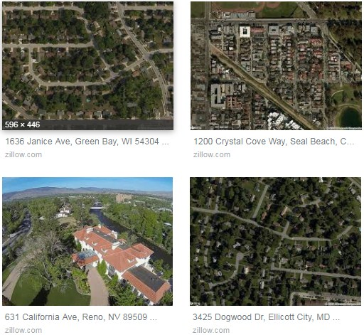 Www Zillow Com Houses For Rent: Zillow Aerial View Of Address