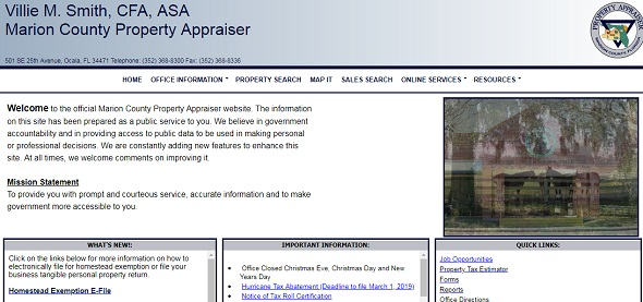 Marion County Property Appraiser