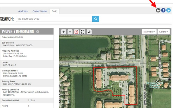 Miami Dade Property Appraiser Property Search
