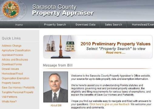Sarasota County Property Appraiser