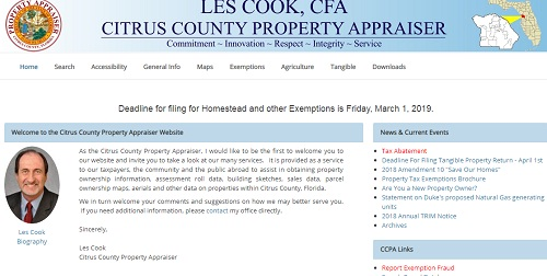 Citrus County Property Appraisers