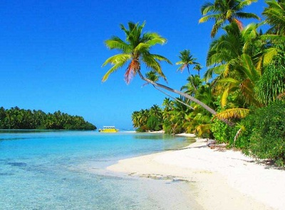 Tapuaetai One Foot Island Cook Islands