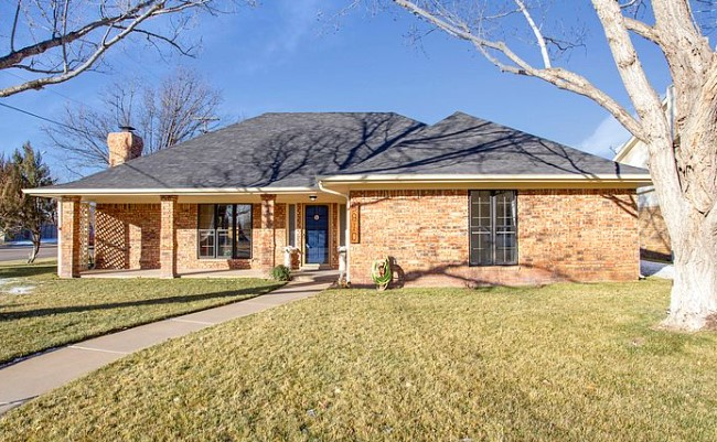 A house at 5910 Hardwick Dr, Amarillo, TX 79109